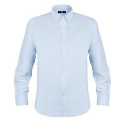 Camisa Oxford Light Manga Larga Hombre